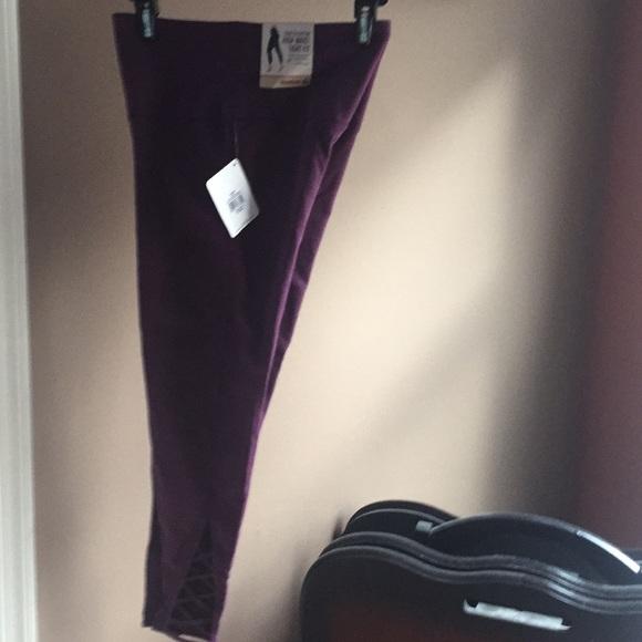 reebok stretch cotton high waist tight fit